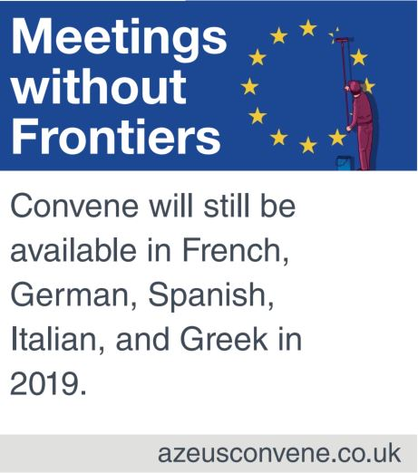 Convene's board app will still be available in many languages after brexit