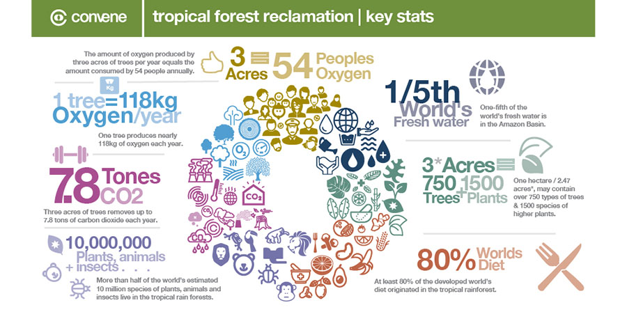 Tropical Forest Restoration stats